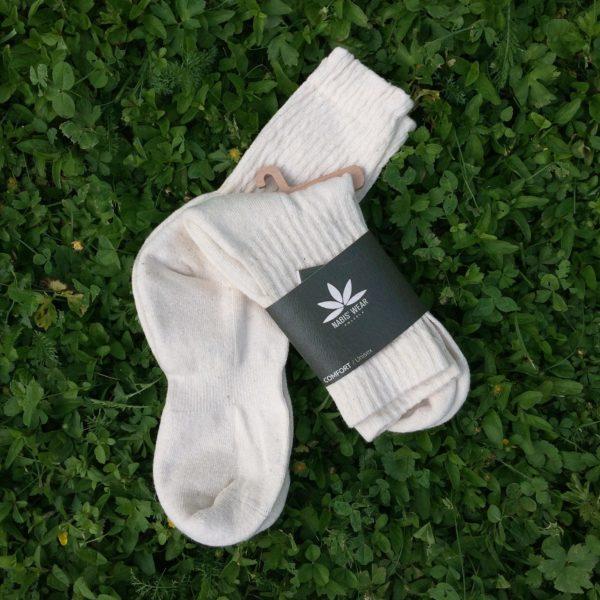 Visoke nogavice iz konoplje, konopljine nogavice, polzela, izdelki iz konoplje